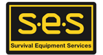 Survival Equipment Services SES Mobile Retina Logo