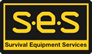 Survival Equipment Services SES Sticky Logo