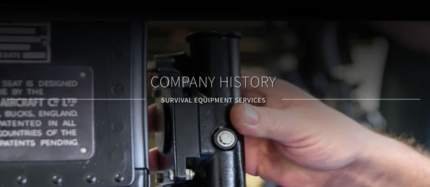 Company history of SES Survival Equipment Services