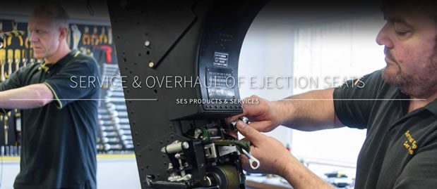 Ejection seat service & overhaul