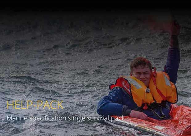 help-pack life-raft