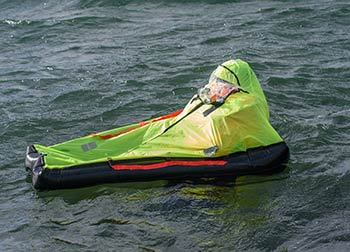 life raft solo raft - single man