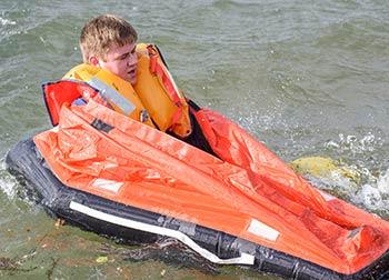 life raft solo raft