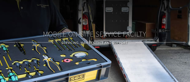 mobile on site servicing Survival Equipment