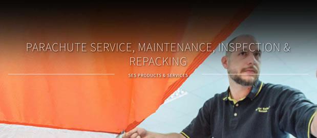 Parachute servicing & repairs