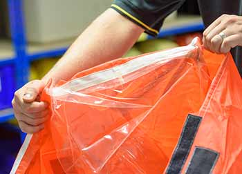 weather protection for life raft