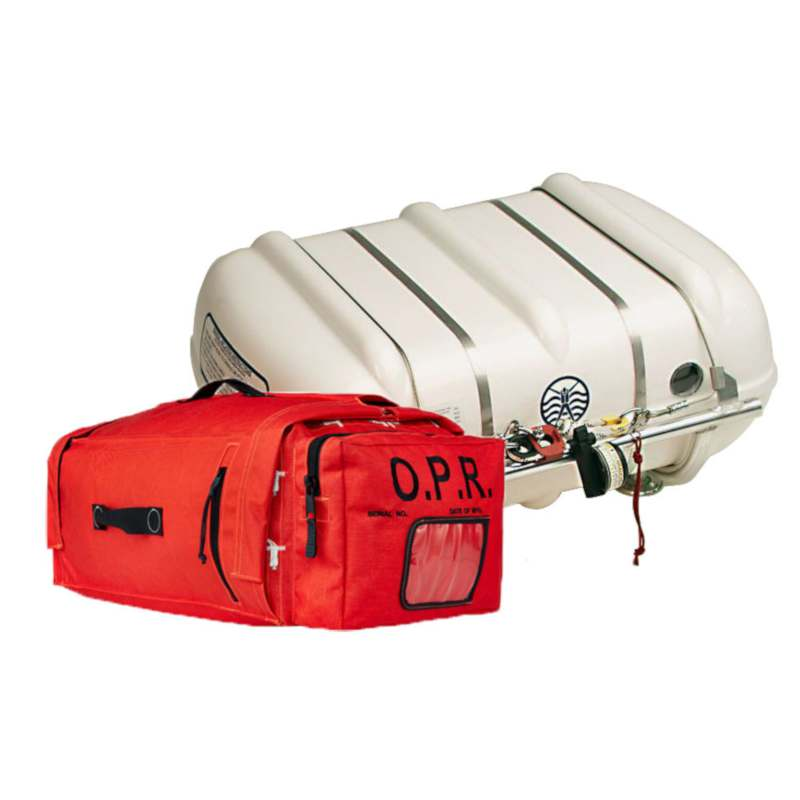 Switlik Offshore Passage liferaft OPR Valise