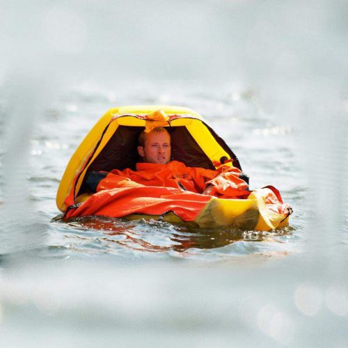 Aviation single person liferaft ISPLR