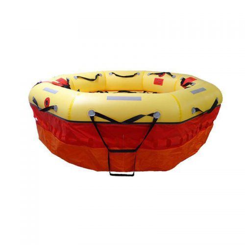 Military specification survival life raft