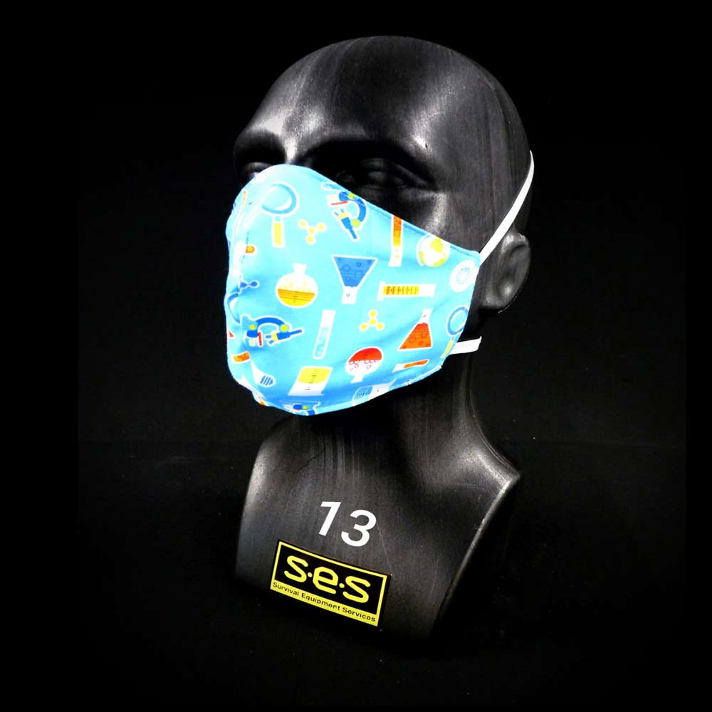 face mask washable reusable PPE 13 Science Fabric