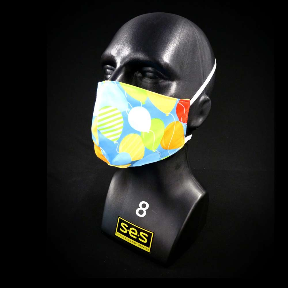 face mask washable reusable ppe 8 balloons