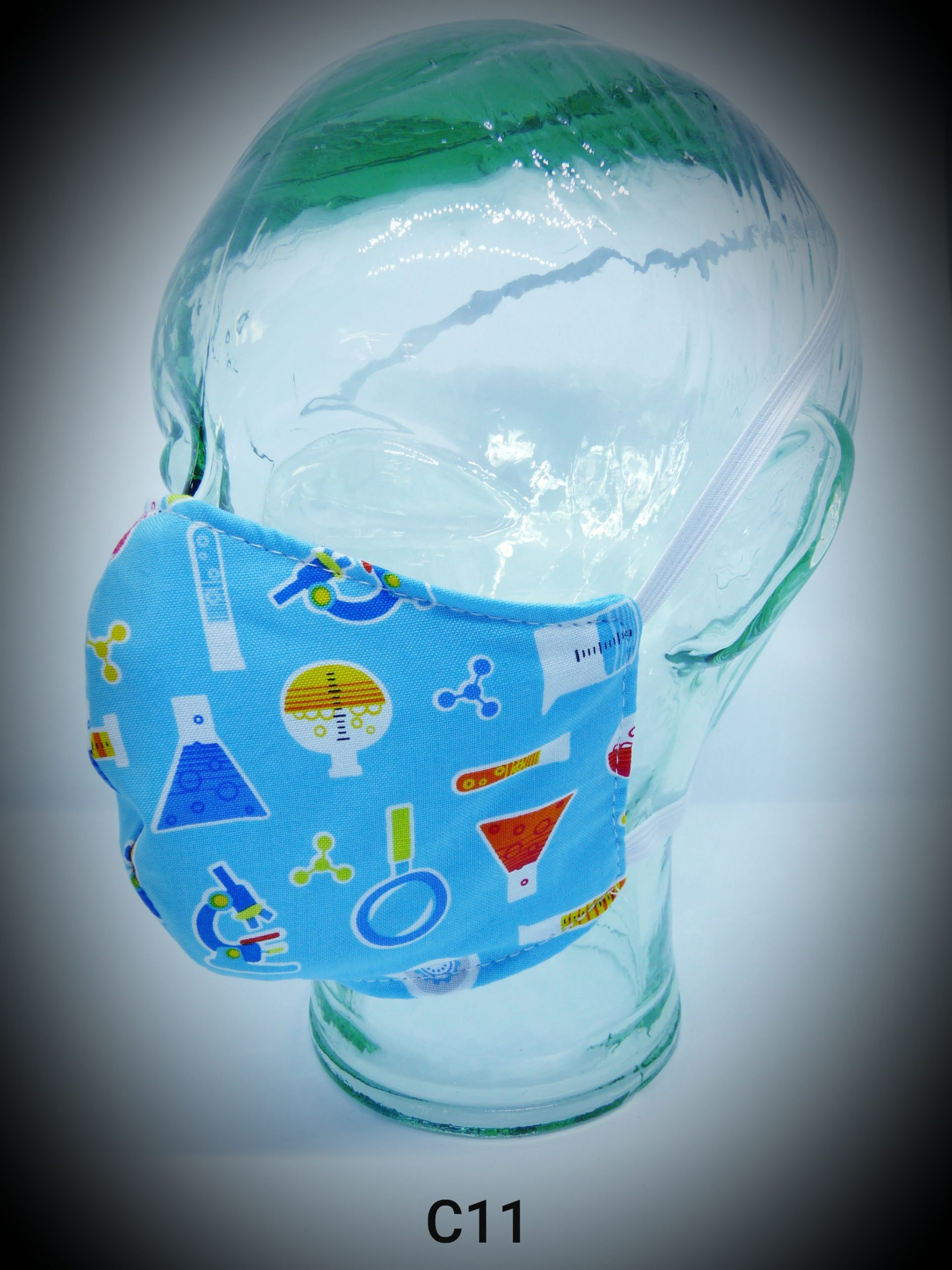 face mask washable reusable ppe c11 science fabric