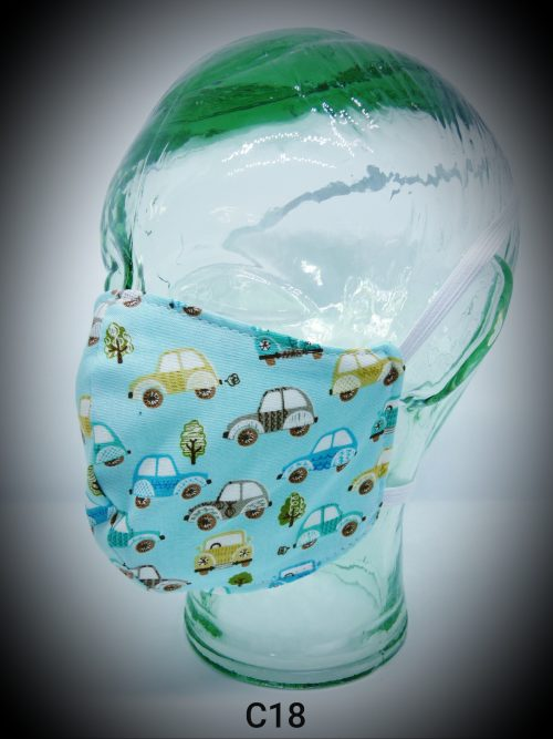 face mask washable reusable ppe c18 cars fabric