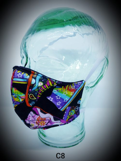 face mask washable reusable ppe c8 converse fabric